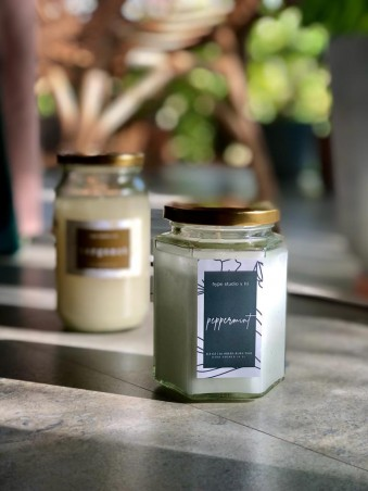 Scented Candle - Peppermint
