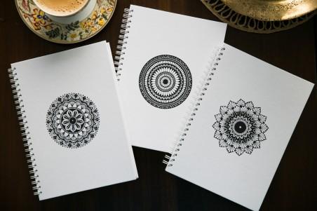 White Notebook Design 2