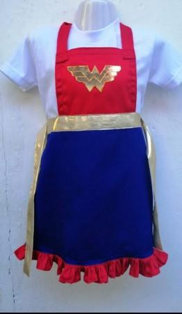 'Wonder Woman' Kids Play Apron